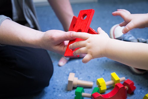The University of Arkansas Office of Play Therapy Research and Training was established this spring.