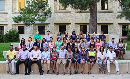 Participants in the 2015 Spirit Scholars program.