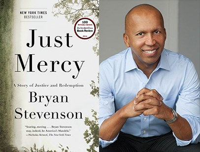 Bryan Stevenson, author of Just Mercy.