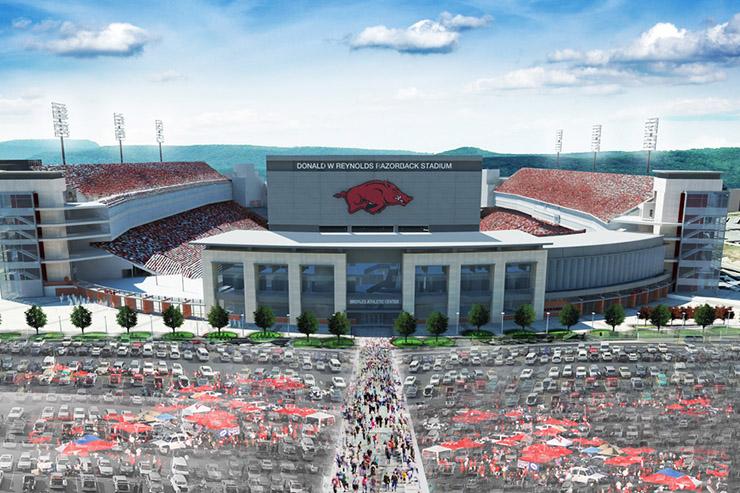 Board Approves Donald W Reynolds Razorback Stadium