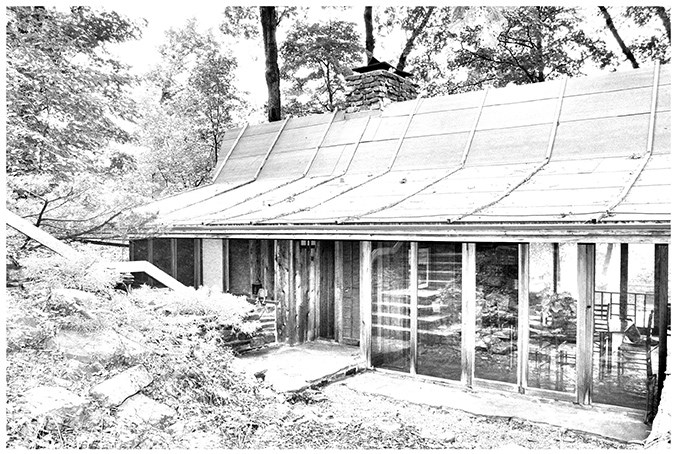 Deepwood House in Fayetteville was designed in 1960 by the late Herb Fowler, then an architecture professor in the Fay Jones School of Architecture and Design.