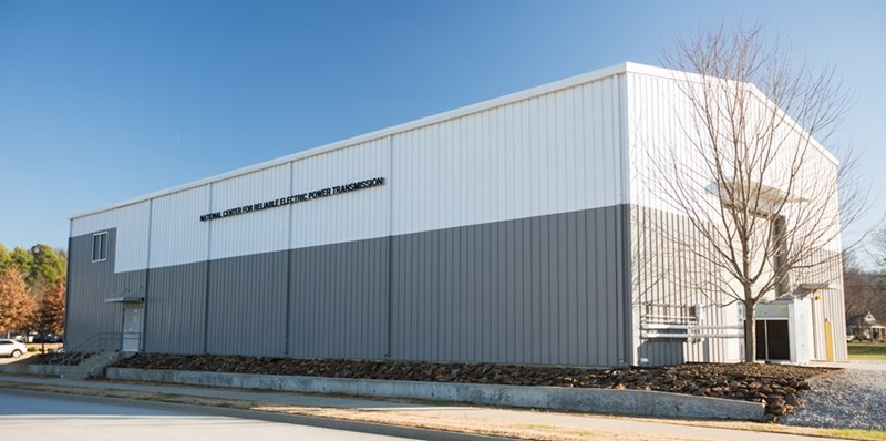 The National Center for Reliable Electric Power Transmission is located at the Arkansas Research and Technology Park.