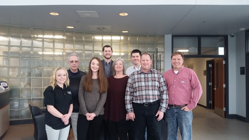 The Ozark Integrated Circuits team at the Arkansas Research and Technology Park.