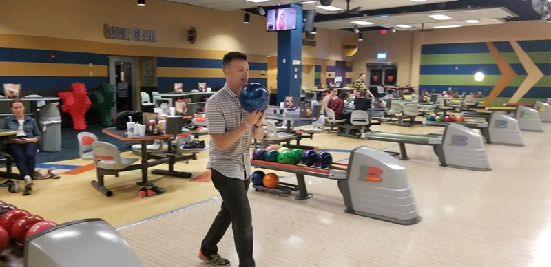 Bowling and laser tag were two American activities explored by members of the International Education Living Learning Community during an outing to Fast Lane Entertainment