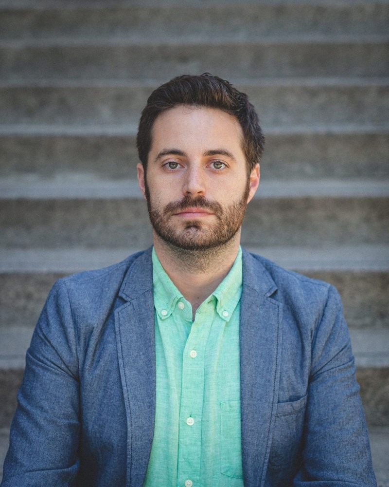 Garrard Conley, author of Boy Erased.