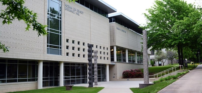Waterman Hall, home to the University of Arkansas School of Law.