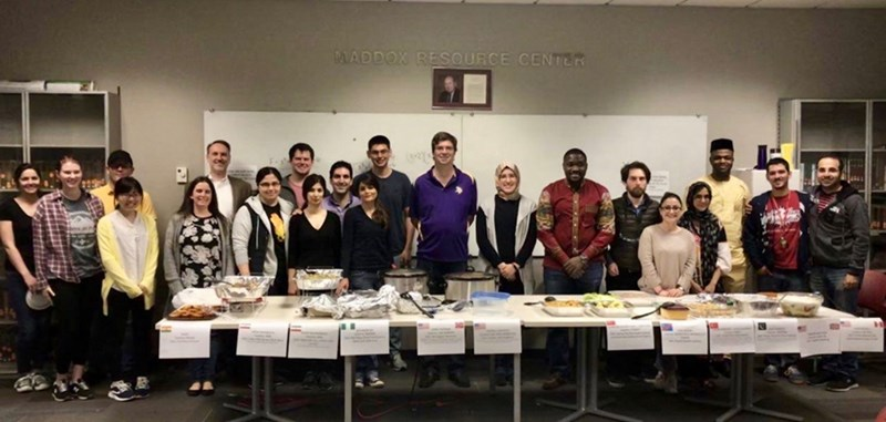 Chemical Engineering doctoral candidate Humeyra Ulusoy-Erol organized the department's first Heritage Potluck to showcase the variety of cultures represented among students and staff, while also encouraging conversations about diversity and inclusion.