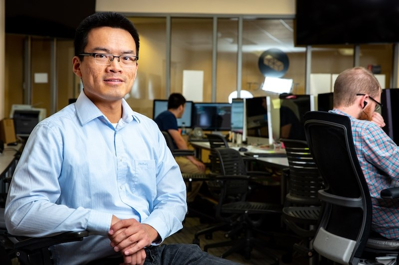 Qinghua Li's research in computer science and computer engineering is aimed at helping utility companies install software patches more effectively.