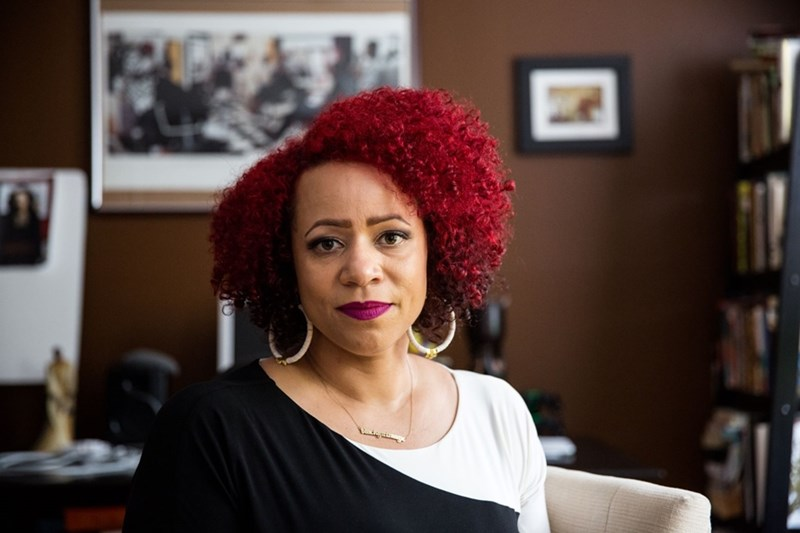 Nikole Hannah-Jones, an award-winning investigative reporter for The New York Times.