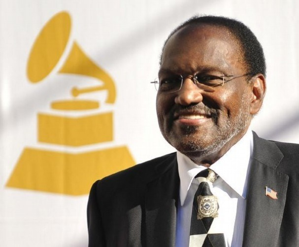 Music legend and U of A visiting professor Al Bell at the Grammys, where he received the Grammy Trustees Award in 2011.