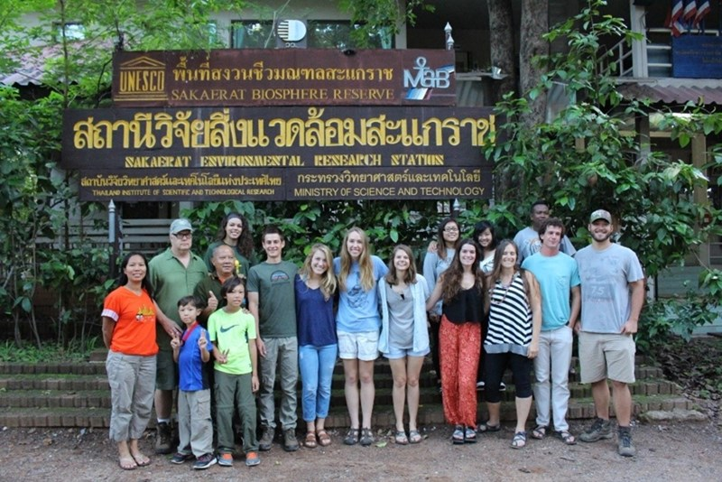 The diversity of Thailand's landscape and the juxtaposition of old and new make it a great study abroad destination