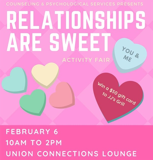 Learn About Healthy Relationships At Caps Activity Fair University Of Arkansas