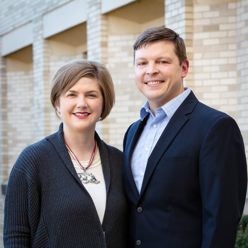 Erik and Brandy Tuft of Rogers have created a new Advance Arkansas scholarship for U of A students from Lincoln and Jefferson Counties