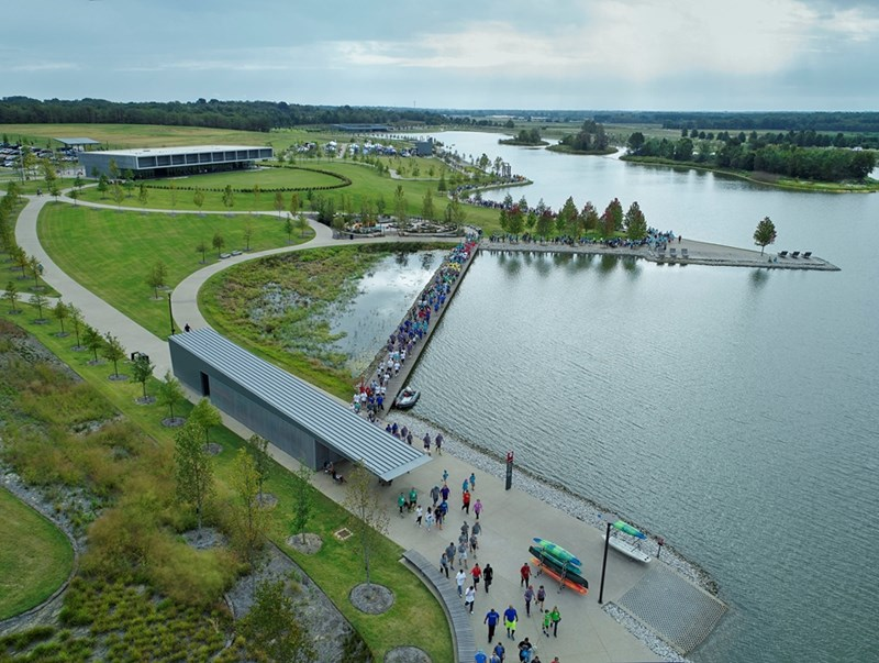 Shelby Farms Park, a design collaboration by James Corner Field Operations and Marlon Blackwell Architects, has won a 2019 Honor Award from the American Institute of Architects.