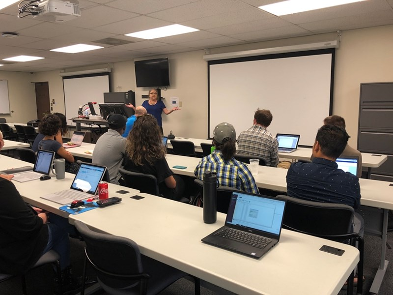 Beverly Edens has provided training for several campus IT teams and departments this year.