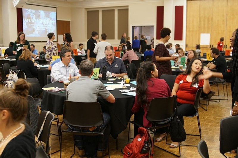 "Over 200 faculty, staff and graduate assistants gathered for the July 2018 ""Are We HIP Enough?"" Retreat. Sign up for the 2019 event will open soon."