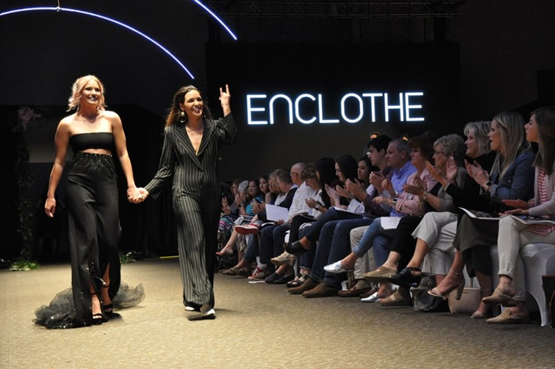 Enclothe: Universal Elements features a collaboration between students in apparel merchandising and product development, horticulture, electrical engineering, and agricultural education, communications and technology.
