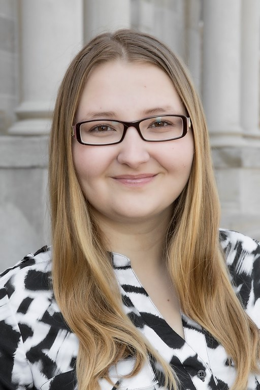 Olga Brazhkina, a senior biomedical engineering major, was named the College of Engineering 2019 Outstanding Senior.