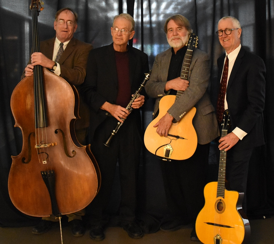 hogtown hot club performs parisian swing jazz at the pryor center university of arkansas. Black Bedroom Furniture Sets. Home Design Ideas