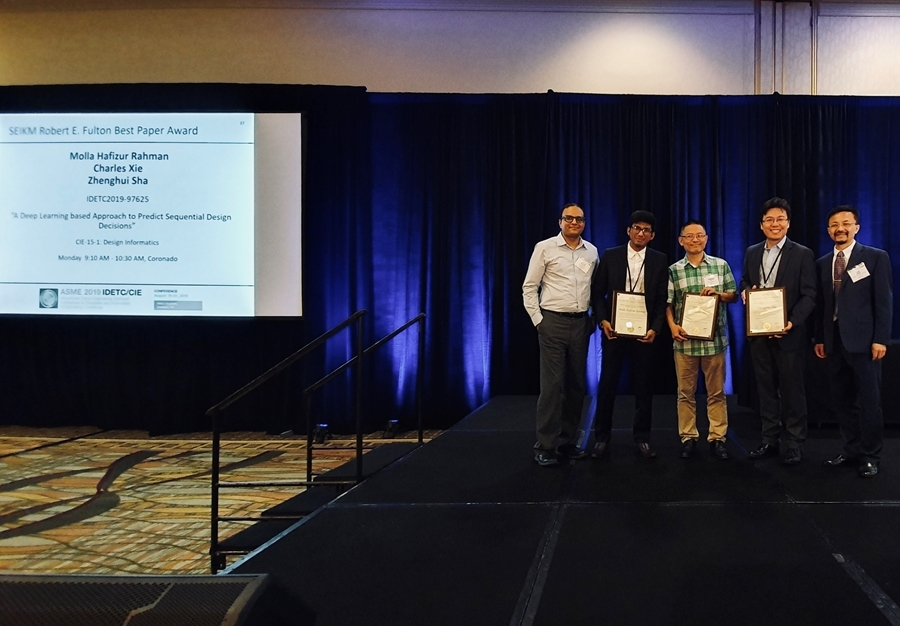 Mechanical Engineering Researchers Take Top Prize At Conference University Of Arkansas