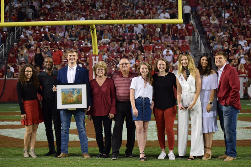 The Carroll Family of Coppell, Texas, was awarded the 2019 Family of the Year this past weekend.