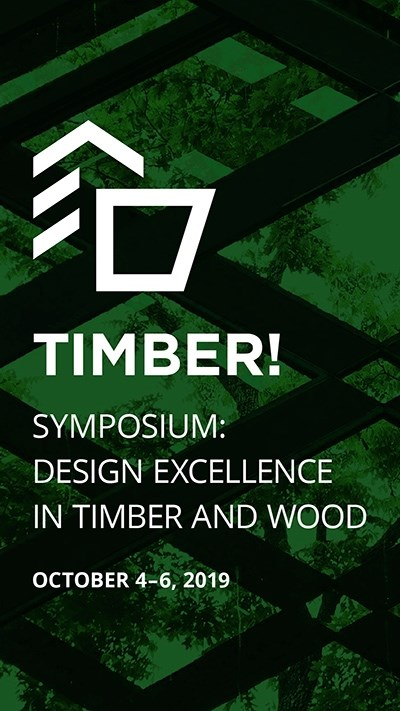 The Timber! Design Excellence in Timber and Wood Symposium will bring together an international cohort of architects and engineers whose work specifically in wood demonstrates excellence in design and innovation.