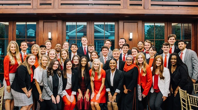 The top 20 Homecoming King and Queen candidates were recognized for their contributions to campus and the student body at the Top 20 Reception, held Thursday, Oct. 10, at the Fowler House Conservatory.