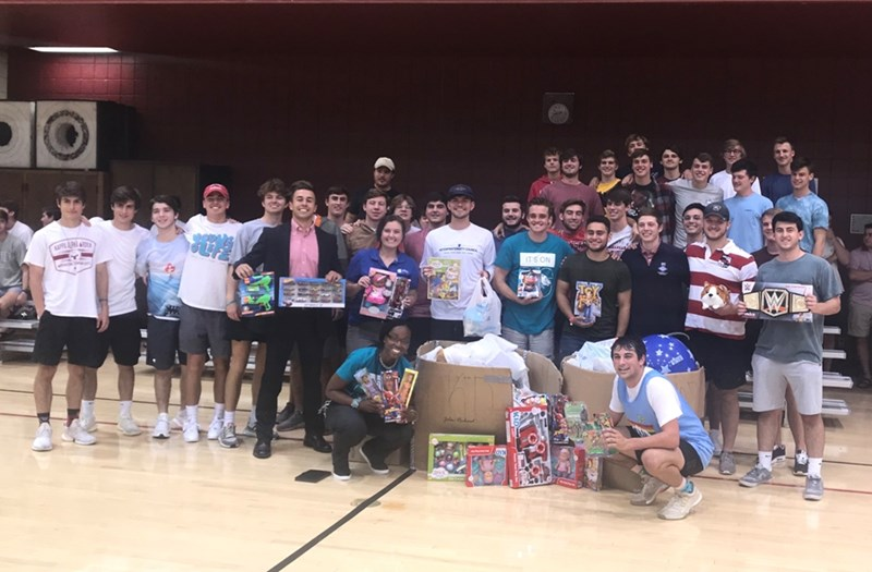 IFC gathered $1,700 worth of toys during their inaugural Brotherhood Basketball Tournament.