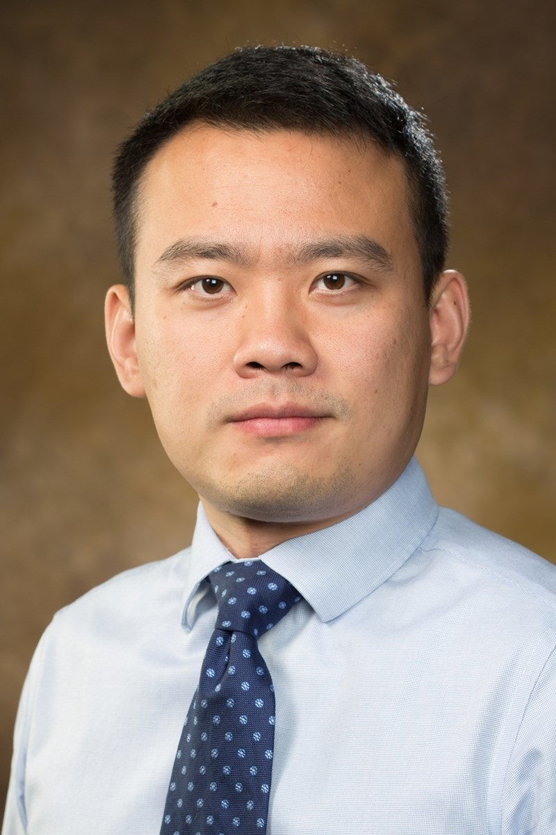 Xiao Liu, assistant professor of industrial engineering.
