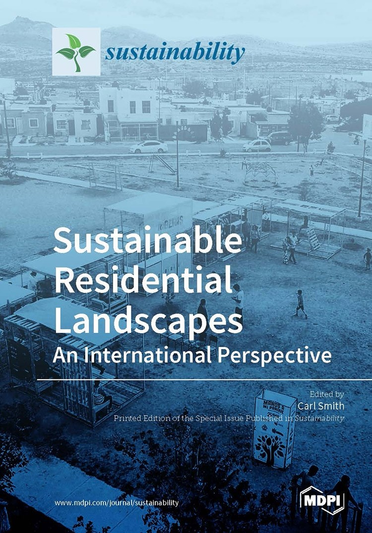 "The cover of ""Sustainable Residential Landscapes: An International Perspective"" features a project led by Gabriel Diaz Montemayor, an assistant professor of landscape architecture in the Fay Jones School, in Chihuahua City, Mexico, in 2017."