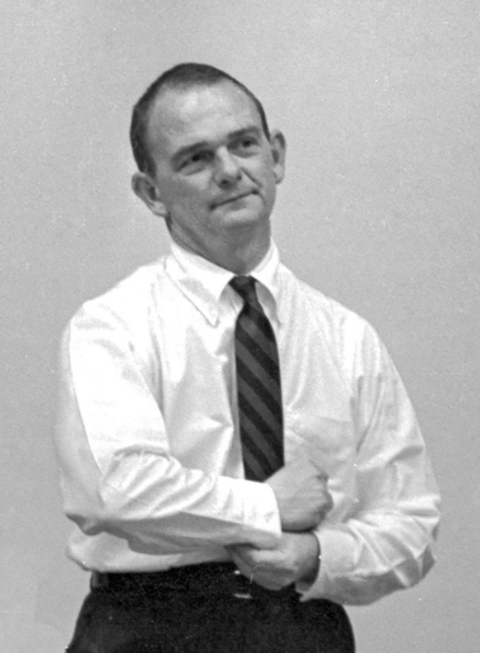 Ernie Jacks, during his time teaching in the architecture program at the University of Arkansas.