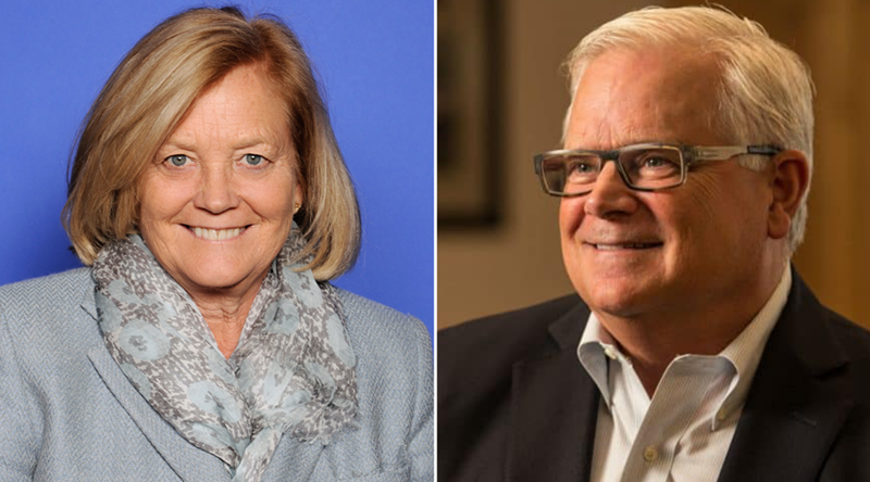 Chellie Pingree and Bill Marler