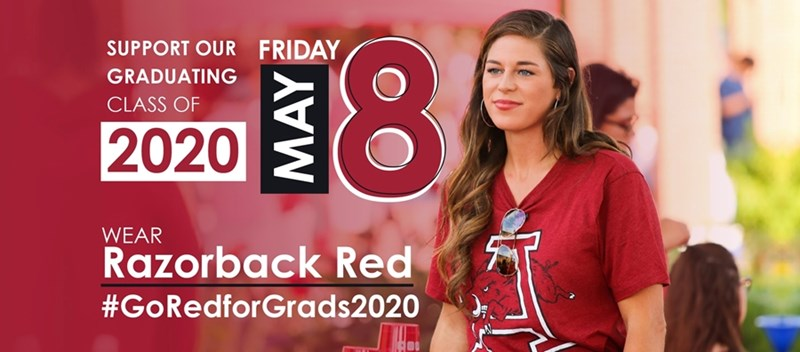 #GoRedForGrads2020 is set for May 8.