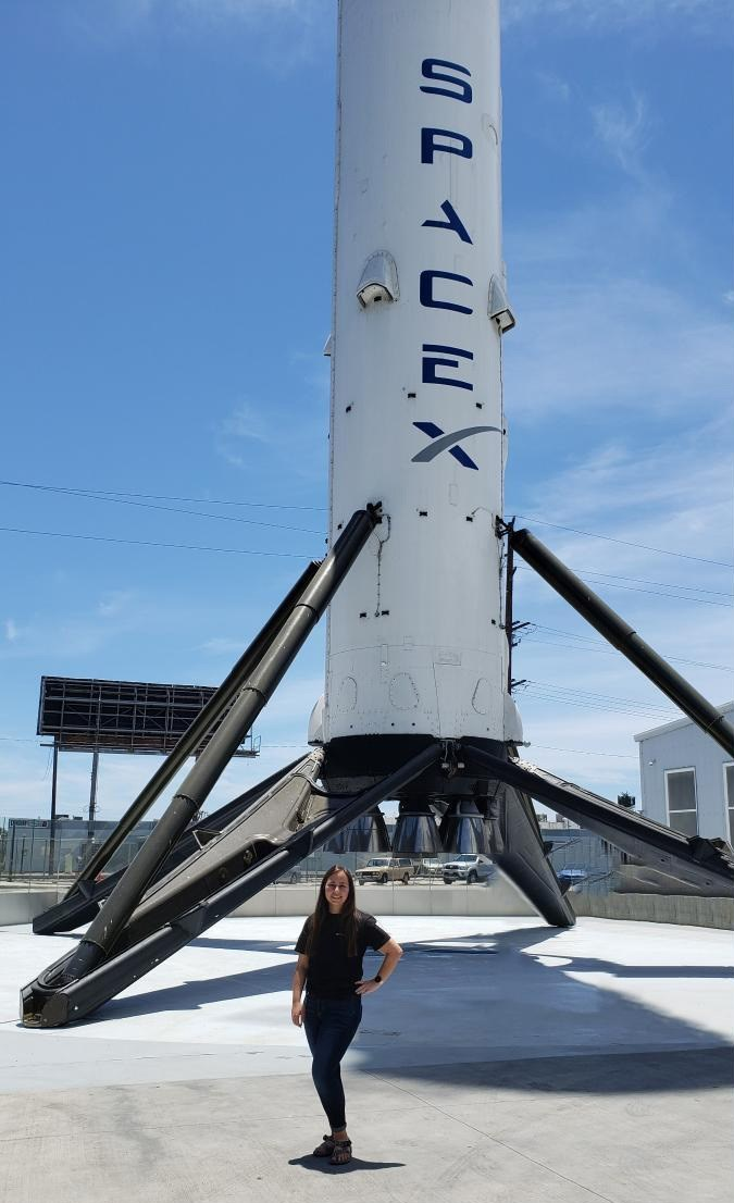 Electrical Engineering's Allison Rucker is spending the summer interning at SpaceX.