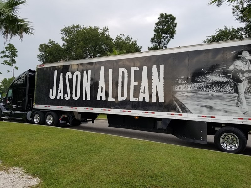 Hospitality management instructor Dede Hamm was part of Jason Aldean's 2018 summer tour while researching her case study on the 2017 Route 91 Harvest Festival tragedy in Las Vegas.