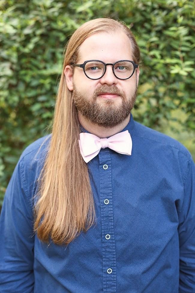 Department of Music professor Justin Hunter