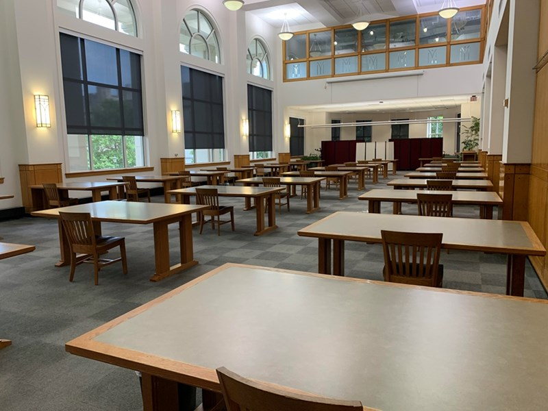The Helen Robson Walton Reading Room, located on Level 2.
