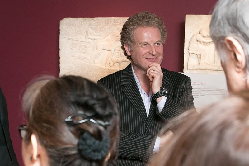 Peter Meineck, Professor of Classics in the Modern World at New York University and founder of Aquila Theatre Company.