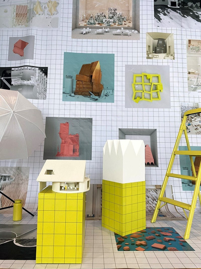 """""""86 Things,"""" an exhibition of recent work by NEMESTUDIO, will be on display through May 14 in the Fred and Mary Smith Exhibition Gallery in Vol Walker Hall on the U of A campus. It is part of the public exhibition series in the Fay Jones School of Architecture and Design."""