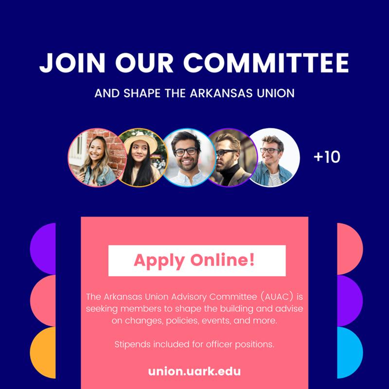 AUAC Recruitment Graphic