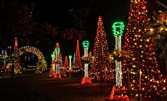Garvan Gardens Christmas Lights 2021 Economic Impact Of Garvan Woodland Gardens Tops 5 Million A Year University Of Arkansas