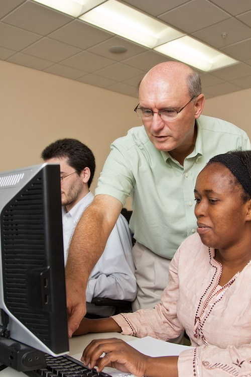 Paul Cronan, professor in the department of information systems, teaches courses in the online graduate certificate in business analytics program.